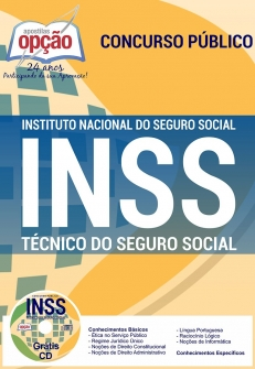 Apostila Preparatória INSS-TÉCNICO DO SEGURO SOCIAL-ANALISTA DO SEGURO SOCIAL - SERVIÇO SOCIAL