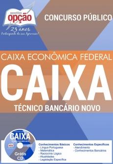 Apostila Preparatória Caixa Econômica Federal (CEF)-TÉCNICO BANCÁRIO