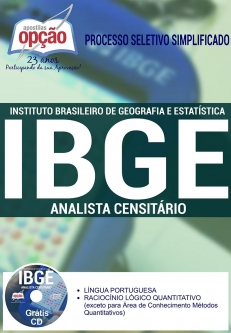 IBGE-ANALISTA CENSITÁRIO-AGENTE CENSITÁRIO REGIONAL (ACR)-AGENTE CENSITÁRIO ADMINISTRATIVO (ACA)