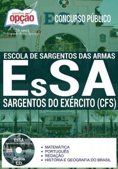 Apostila Preparatória EsSA 2017-SARGENTOS DO EX�RCITO (CFS)