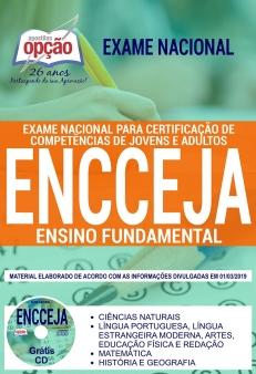 ENCCEJA 2019-ENSINO FUNDAMENTAL