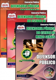 Defensoria Pública do Estado / MG-DEFENSOR PÚBLICO