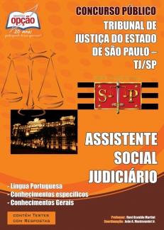 Apostila ASSISTENTE SOCIAL JUDICIÁRIO Tribunal de Justiça do Estado / SP