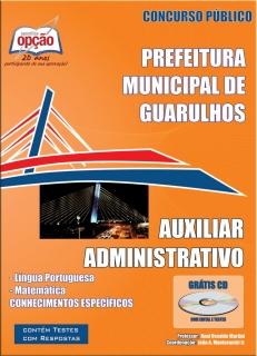 Prefeitura de Guarulhos / SP-AUXILIAR ADMINISTRATIVO-ATENDENTE DO SUS