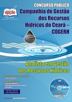 Companhia de Gestão dos Recursos Hídricos (COGERH)-ANALISTA EM GESTÃO DOS RECURSOS HÍDRICOS