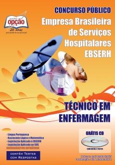 Empresa Brasileira de Serviços Hospitalares (EBSERH)-TÉCNICO EM ENFERMAGEM