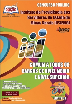 IPSEMG-COMUM A TODOS OS CARGOS DE NÍVEL MÉDIO E SUPERIOR