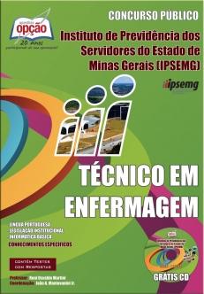 IPSEMG-TÉCNICO EM ENFERMAGEM