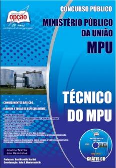 Ministério Público da União - MPU-TÉCNICO DO MPU