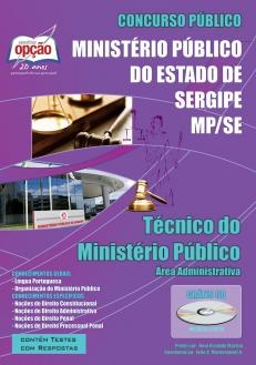 Ministério Público / SE-TÉCNICO DO MINISTÉRIO PÚBLICO (ÁREA ADMINISTRATIVA)
