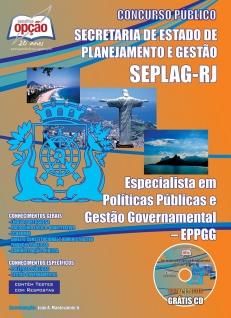Secretaria Estadual de Planejamento e Gestão do Rio de Janeiro (SEPLAG)-ESPECIALISTA EM POLÍTICAS PÚBLICAS E GESTÃO GOVERNAMENTAL - EPPGG
