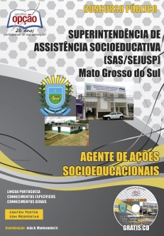 SEJUSP / MS-AGENTE DE AÇÕES SOCIOEDUCACIONAIS