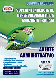 SUDAM / Amazônia -AGENTE ADMINISTRATIVO