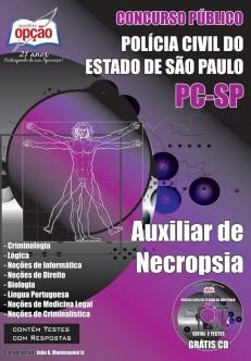 Polícia Civil / SP (Necrópsia)-AUXILIAR DE NECROPSIA