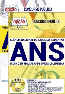 Apostila Preparatória ANS-TÉCNICO EM REGULAÇÃO DE SAÚDE COMPLEMENTAR-TÉCNICO ADMINISTRATIVO