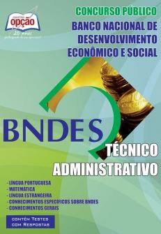 Apostila Preparatória BNDES-TÉCNICO ADMINISTRATIVO