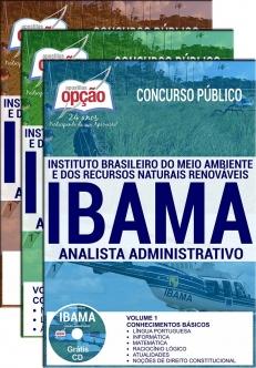 Apostila Preparatória IBAMA-ANALISTA ADMINISTRATIVO