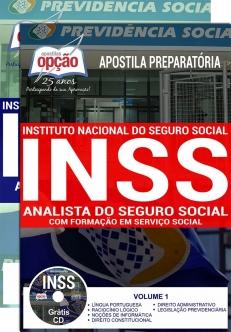 Apostila Preparatória INSS-ANALISTA DO SEGURO SOCIAL - SERVIÇO SOCIAL