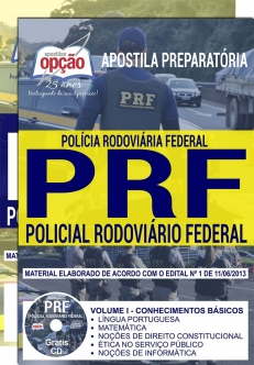 Apostila Preparatória PRF-POLICIAL RODOVIÁRIO FEDERAL