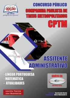 CIA Paulista de Trens Metropolitanos (CPTM)-ASSISTENTE ADMINISTRATIVO