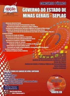Governo do Estado de Minas Gerais ( SEPLAG )-DIVERSOS CARGOS DE NÍVEL SUPERIOR