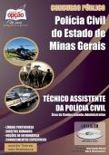 Polícia Civil / MG-TÉCNICO ASSISTENTE DA POLÍCIA CIVIL- ÁREA ADMINISTRATIVA