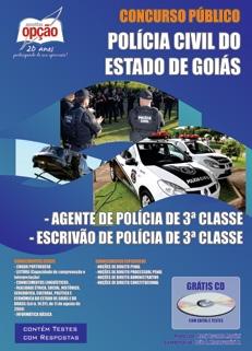 Polícia Civil / GO-AGENTE/ESCRIVÃO DE POLÍCIA DE 3º CLASSE