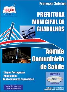 Prefeitura de Guarulhos / SP (Processo Seletivo)-AGENTE COMUNITÁRIO DE SAÚDE