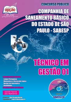 SABESP-TÉCNICO EM GESTÃO 01