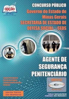 Secretaria de Estado de Defesa Social / MG (SEDS) -AGENTE DE SEGURANÇA PENITENCIÁRIO