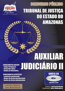 Tribunal de Justiça do Estado / Amazonas-AUXILIAR JUDICIÁRIO II