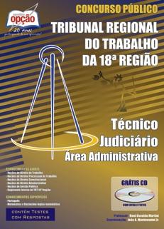 TRT 18ª Região / GO-TÉCNICO JUDICIÁRIO - ÁREA ADMINISTRATIVA
