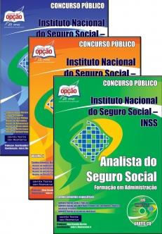 Instituto Nacional do Seguro Social (INSS)-COMPLETA PARA FORMAÇÃO EM ADMINISTRAÇÃO-ANALISTA DE ADMINISTRAÇÃO - FORMAÇÃO EM ADMINISTRAÇÃO-ANALISTA - CONHECIMENTOS BÁSICOS - VOLUME II -ANALISTA - CONHECIMENTOS BÁSICOS - VOLUME I-ANALISTA  - CONHECIMENTOS BÁSICOS - JOGO I E II