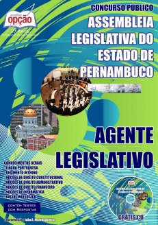Assembleia Legislativa do Estado de Pernambuco - ALEPE-AGENTE LEGISLATIVO