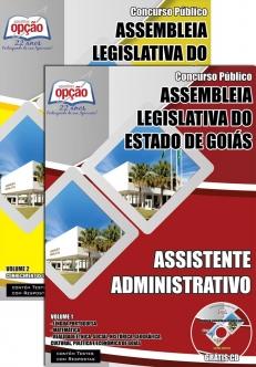 Assembleia Legislativa / GO-ASSISTENTE ADMINISTRATIVO
