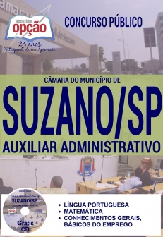 Câmara do Município de Suzano / SP-PORTEIRO-AUXILIAR ADMINISTRATIVO-AGENTE DE VIGILÂNCIA E ZELADORIA-AGENTE DE LIMPEZA