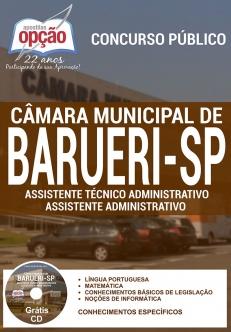 Câmara Municipal de Barueri / SP-ASS. TÉCNICO ADMINISTRATIVO / ASS. ADMINISTRATIVO-AGENTE DE SEGURANÇA LEGISLATIVO