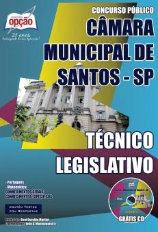Câmara Municipal de Santos / SP-TÉCNICO LEGISLATIVO-ATENDENTE LEGISLATIVO