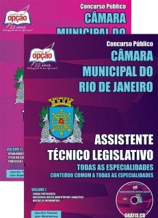 Câmara Municipal do Rio de Janeiro / RJ-ASSISTENTE TÉCNICO LEGISLATIVO - CONTEÚDO COMUM A TODAS AS ESPECIALIDADES-ANALISTA LEGISLATIVO - TODAS AS ESPECIALIDADES-ANALISTA LEGISLATIVO - ESPECIALIDADE: TAQUIGRAFIA
