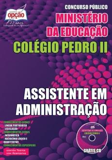 Colégio Pedro II-ASSISTENTE EM ADMINISTRAÇÃO
