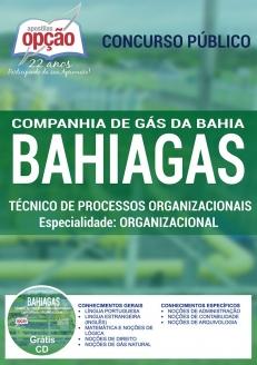 Companhia de Gás da Bahia (BAHIAGAS)-TÉCNICO DE PROCESSO ORGANIZACIONAIS - ORGANIZACIONAL-NÍVEL SUPERIOR (COMUM A TODOS OS CARGOS)