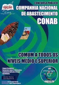 Companhia Nacional de Abastecimento (CONAB)-COMUM A TODOS OS NÍVEIS MÉDIO E SUPERIOR-ASSISTENTE – NÍVEL MÉDIO