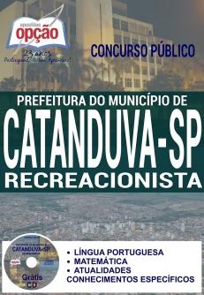 Concurso Catanduva SP 2016-RECREACIONISTA-PROFESSOR I-BERÇARISTA