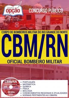 Concurso CBM RN 2017-OFICIAL BOMBEIRO MILITAR