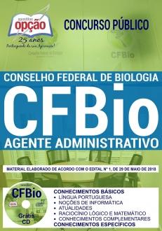 Concurso CFBio 2018-AGENTE ADMINISTRATIVO
