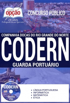 Concurso CODERN 2017-GUARDA PORTUÁRIO
