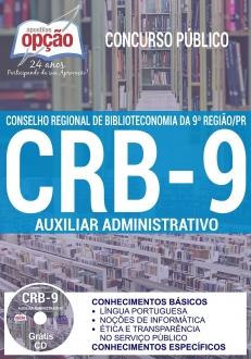 Concurso CRB 9ª Região 2017-AUXILIAR ADMINISTRATIVO