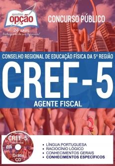 Concurso CREF 5ª REGIÃO 2017-AGENTE FISCAL-AGENTE ADMINISTRATIVO