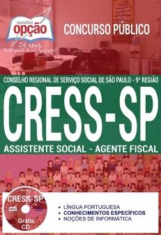 Concurso CRESS SP 2017-ASSISTENTE SOCIAL - AGENTE FISCAL