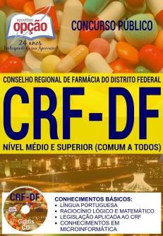 Concurso CRF DF 2017-NÍVEL MÉDIO E SUPERIOR (COMUM A TODOS)